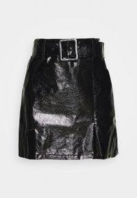 KENE SKIRT - Mini skirt - black
