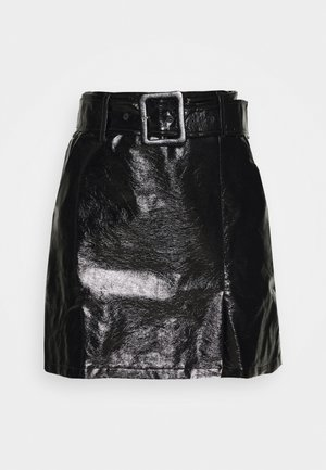 KENE SKIRT - Minigonna - black