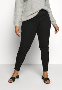 CAPSULE by Simply Be - NEW AMBER - Jeggings - black - 0