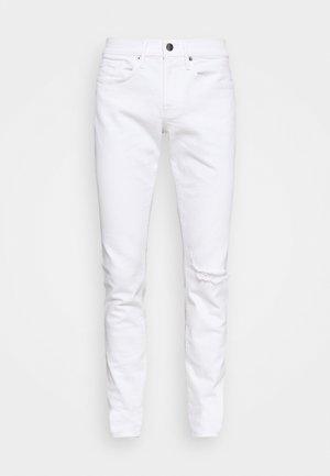 HOMME - Straight leg jeans - blanc rips