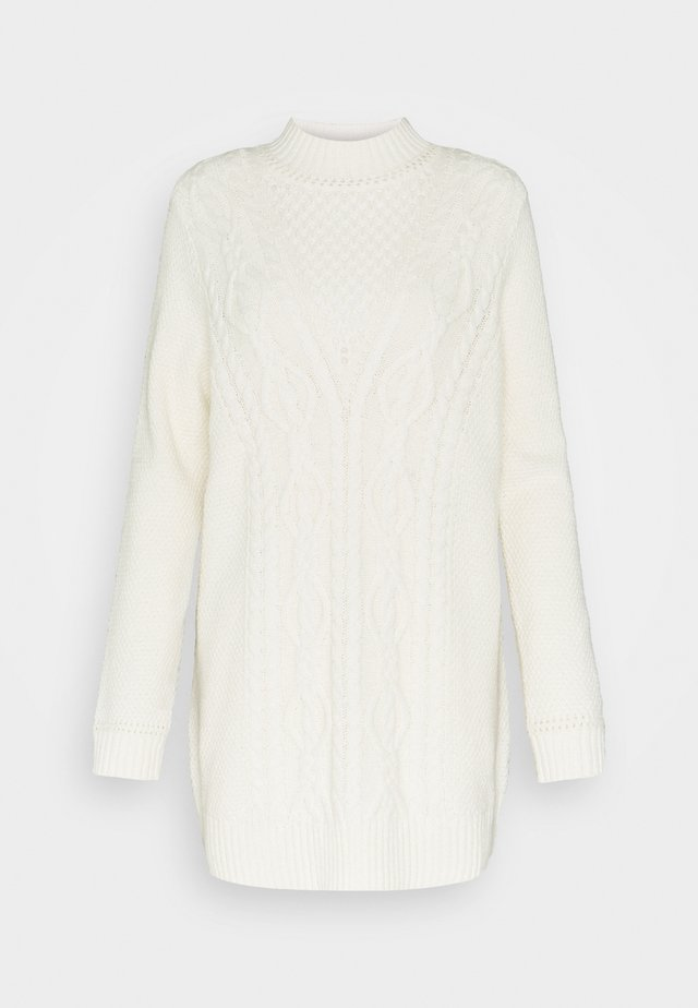 CABLE - Sweter - cream beige