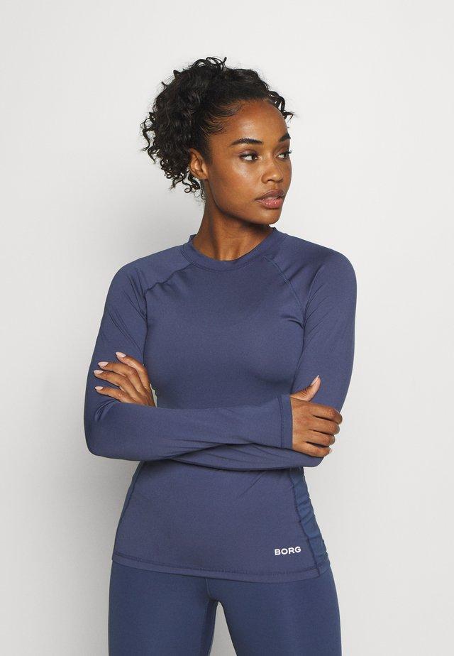 CARY TEE - Long sleeved top - crown blue