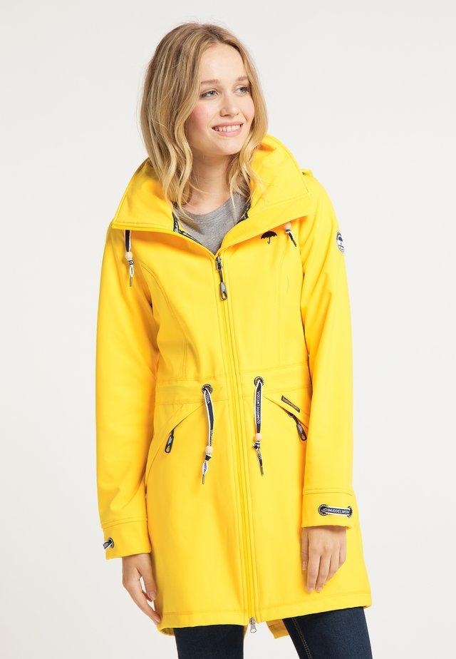 Outdoorjacke - gelb