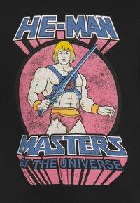 Nominal - MAN TEE - Print T-shirt - black - 2