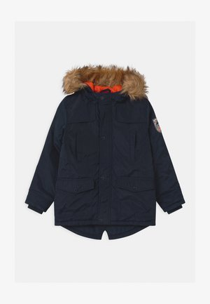 TEEN BOYS - Winter coat - dark blue