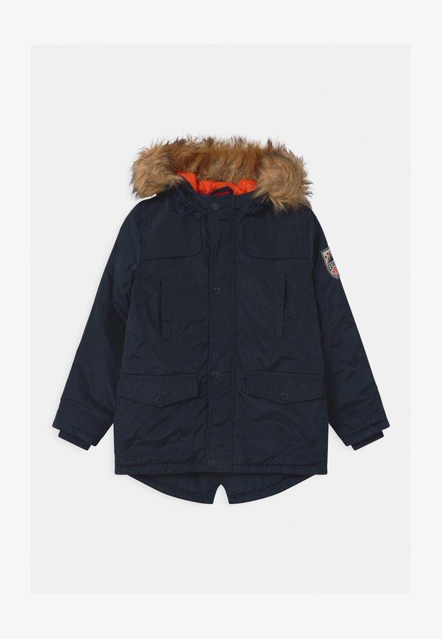 TEEN BOYS - Winter coat - dark blue