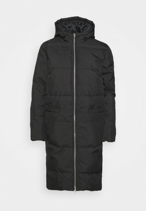 JDYSUNNY NOBLE LONG HOOD - Winter coat - black