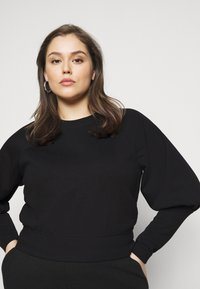 Pieces Curve - PCROSAN - Sweatshirt - black - 5