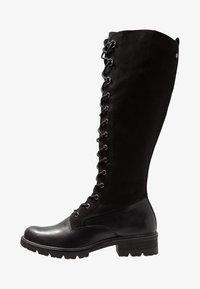 Tamaris - Lace-up boots - black - 1