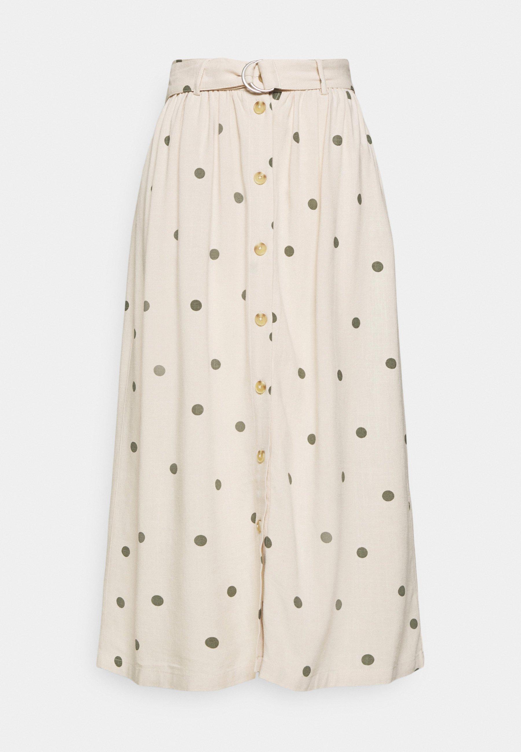 Women OBJBRIELLE LONG SKIRT - Maxi skirt