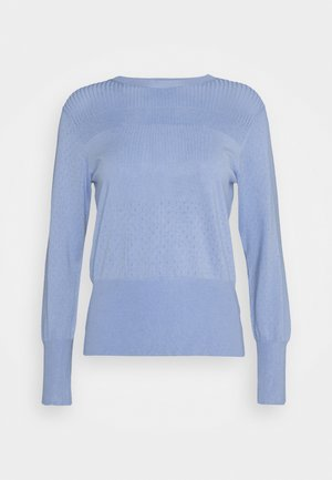 STITCH JUMPER - Jumper - blue