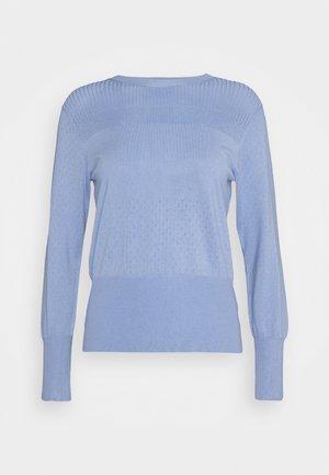 STITCH JUMPER - Pullover - blue