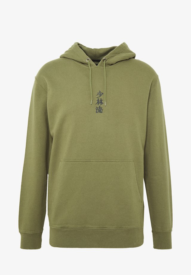 SHAO LIN HOODIE SWEAT - Kapuzenpullover - martini olive
