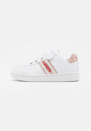 BRANDON  - Trainers - white/rose gold