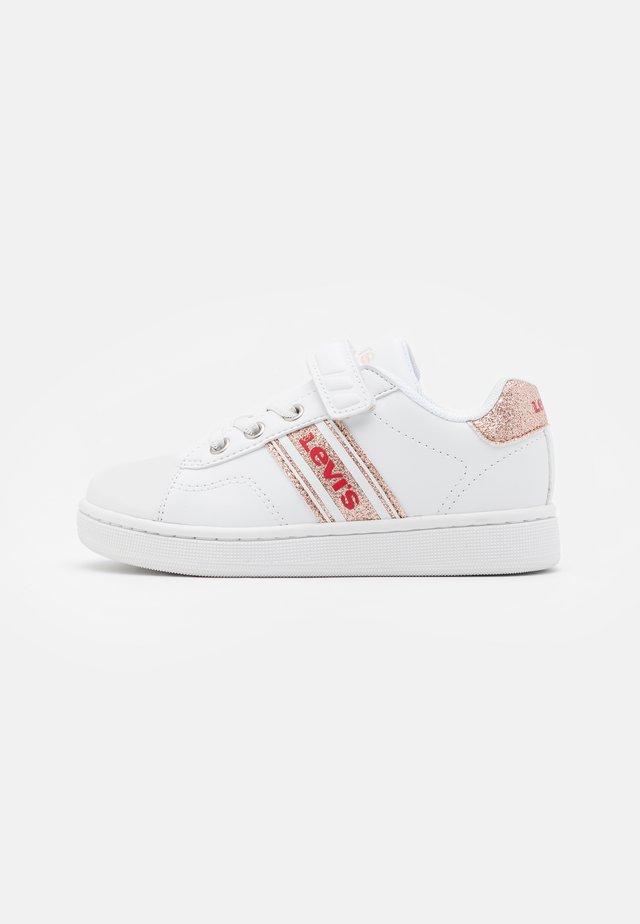 BRANDON  - Sneakers basse - white/rose gold