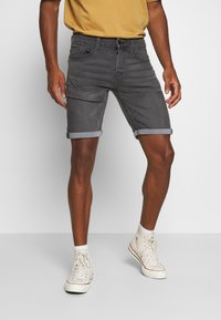 Only & Sons - ONSPLY - Denim shorts - grey denim - 0