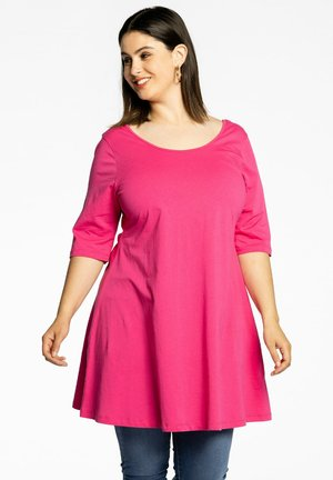 SHORT SLEEVES - T-shirt basic - pink