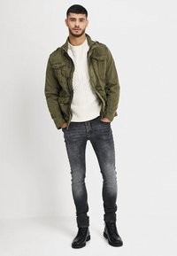INDICODE JEANS - HUCKLE - Summer jacket - army - 1