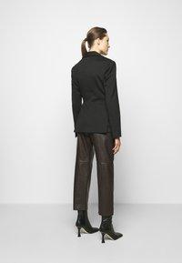 Proenza Schouler White Label - SUITING TIE WAIST - Blazer - black - 2