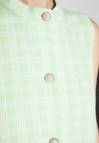 Résumé - ELLIE DRESS - Shirt dress - pastel green - 4