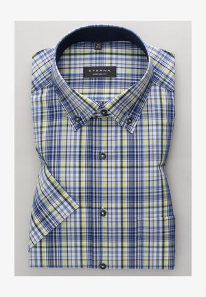 ETERNA COMFORT FIT - Shirt - grün/blau