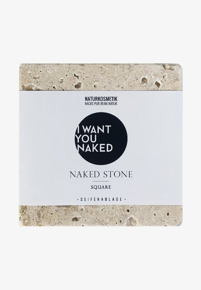 NAKED SOAPSTONE SQUARE - SEIFENABLAGE - Accessoires corps & bain - -