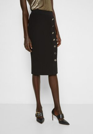 BOLGHERI CREPE - Pencil skirt - black