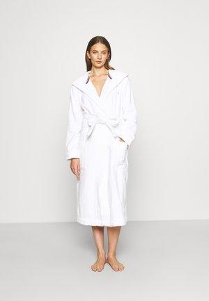 ORIGINAL HOODED BATHROBE - Peignoir - white