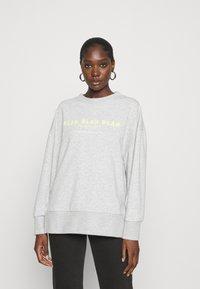 Mavi - BLAH PRINTED - Sweatshirt - light grey melange - 0