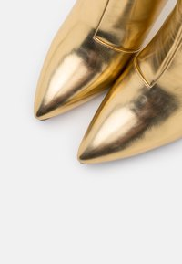 BEBO - DIANNE - High heeled ankle boots - gold - 5