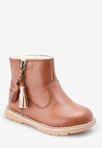 Next - TAN TASSEL  - Baby shoes - brown - 2