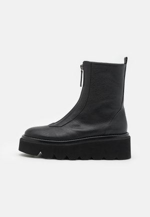 GRENORA - Wedge Ankle Boots - black