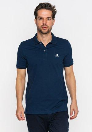 Poloshirt - navy/white