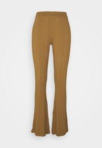 DAHLIA TROUSER - Leggings - light brown