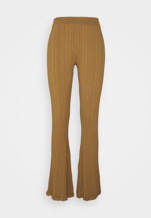 DAHLIA TROUSER - Leggingsit - light brown