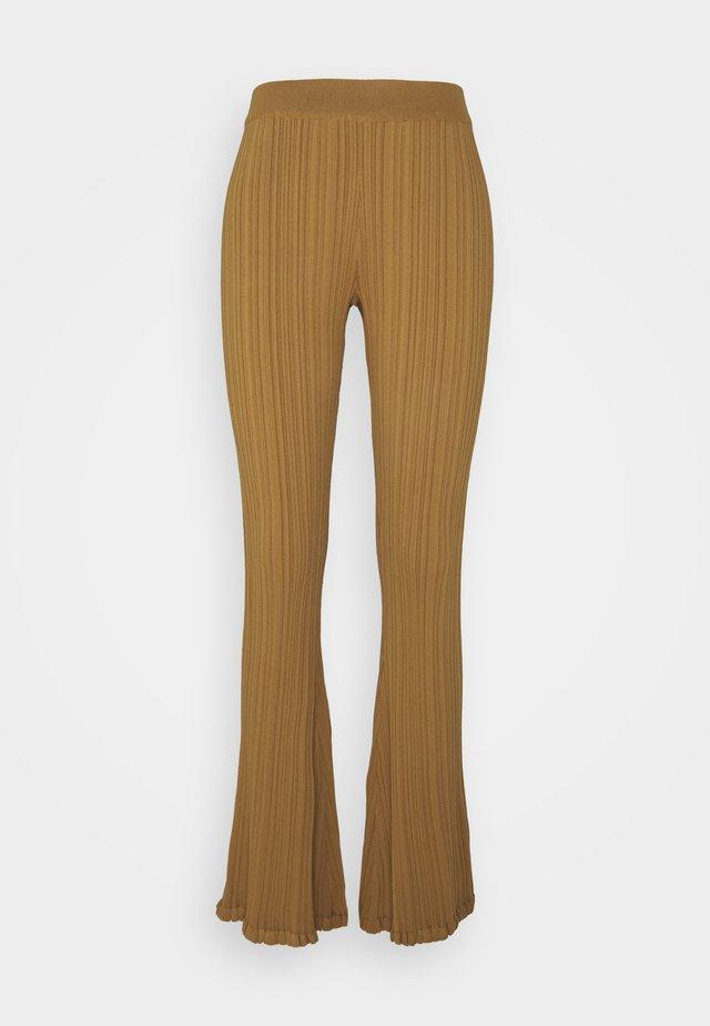 DAHLIA TROUSER - Legging - light brown
