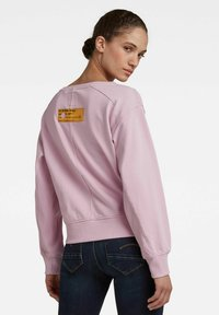 G-Star - BOAT NECK - Sweatshirt - lavender pink - 3