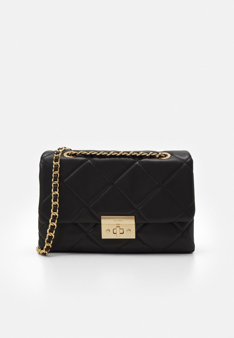 ALDO - ALOJA - Across body bag - jet black/gold