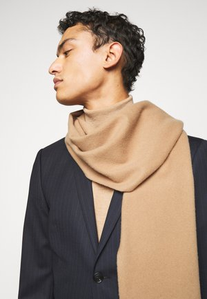 SYLAN UNISEX - Scarf - dark honey