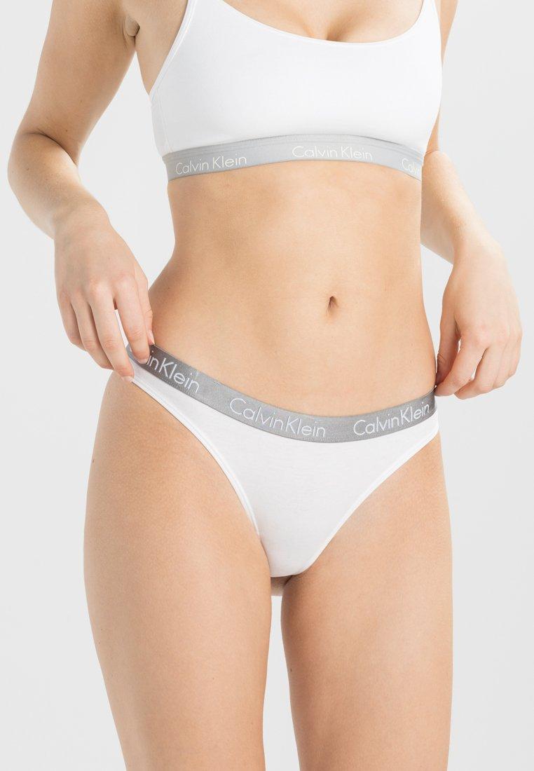 Calvin Klein Underwear - RADIANT THONG - String - white
