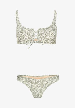 RENEWED UP SCOOP HIGH SIDE SET - Bikini - khaki