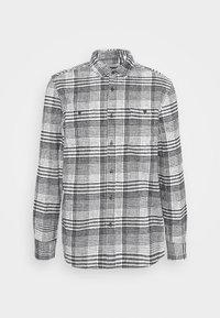 Topman - MONO CHECK SMALL SCALE - Shirt - black - 3