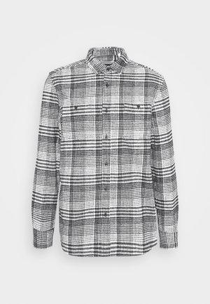 MONO CHECK SMALL SCALE - Skjorta - black