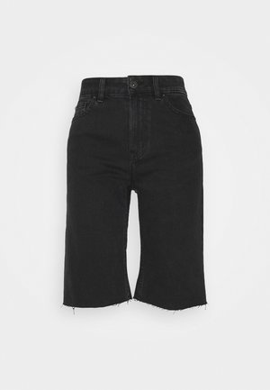 ONLEMILY RAW - Jeansshorts - black