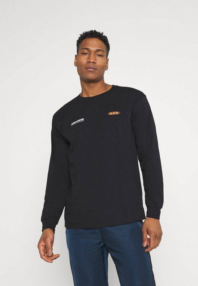 MENNACE FLOWER BUNCH  - Long sleeved top - black