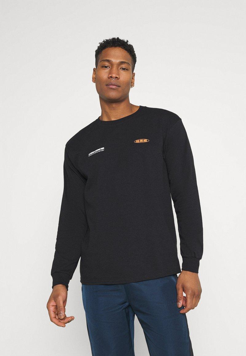 Mennace - MENNACE FLOWER BUNCH  - Långärmad tröja - black