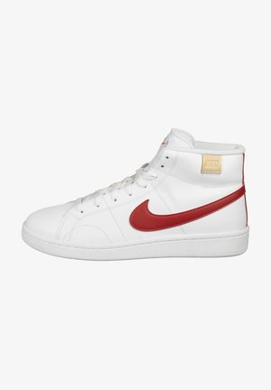 COURT ROYALE  - High-top trainers - white/university red/onyx