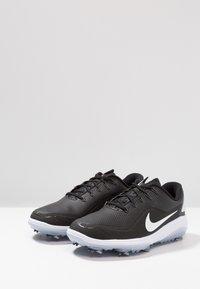 Nike Golf - REACT VAPOR  - Golfskor - black/metallic white - 2