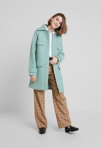 KIOMI - Classic coat - mint - 1
