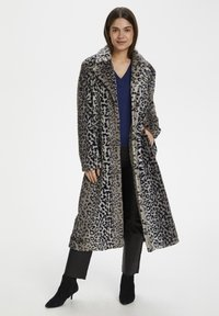 InWear - Classic coat - leo fur - 1